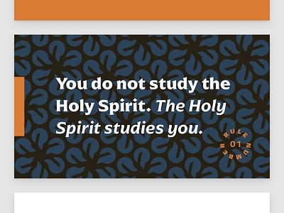 The Advocate Series, Feature Slide church fire pattern branding typography deck presentation slides sermon illustration design