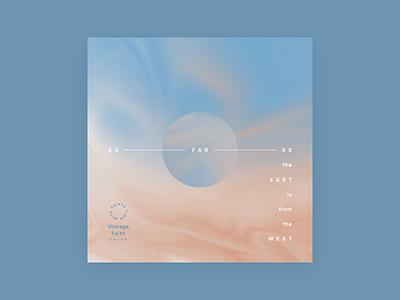 As Far As Album Cover sky cover music art album illustration design
