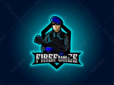FIREFORCE Mascot Logo