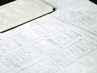 Initial app sketches