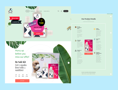 web layout mock Recovered