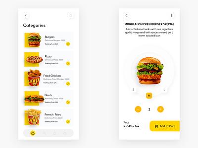 Optp redesign fastfood ui app burgers