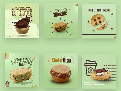 social media design social media design cookies muffins socialmedia