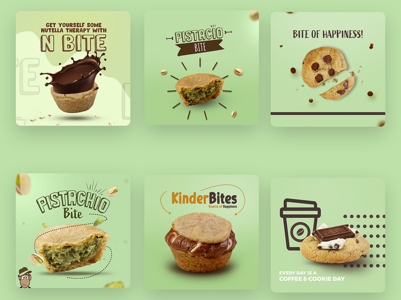 social media design social media design cookies muffins socialmedia