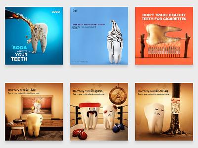Dental Social Media social media design socialmedia graphicdesign graphic design