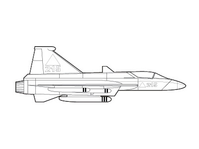 Delta Fighter 4 side view