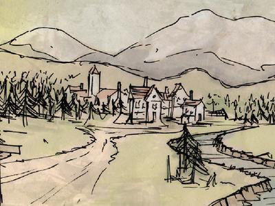 Village web banner
