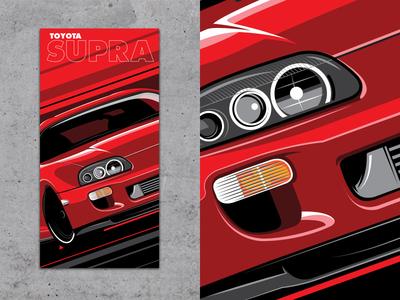 Graphic Supra Poster