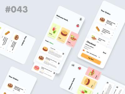 Daily UI 043 - Food - Drinks App creativity creative vector logo design art food app food and drink drink daily daily ui dailyuichallenge uidesign daily 100 challenge design dailyui