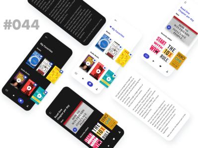 Daily UI  - 044 - Favorite app design website design dribbble behance uiux favorite ui design ui vector logos daily branding daily ui dailyuichallenge uidesign daily 100 challenge design dailyui