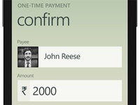 Rupay - Confirmation Screen