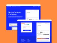 FutureMe Landing Page