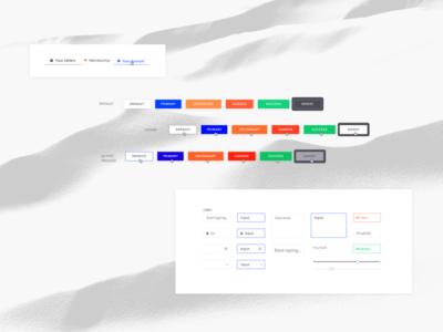 Molecules patterns forms fields buttons product design web web app ui components