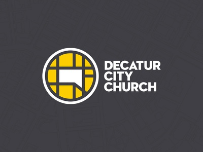 Decatur City Church Branding decatur north point andy stanley map city church logo
