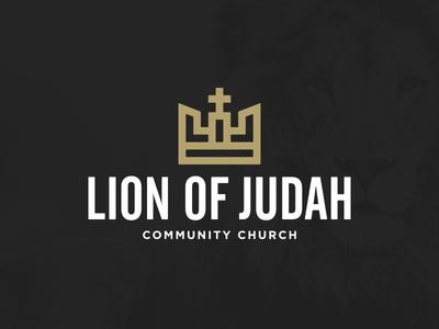 Lion Of Judah Logo black gold judah lion crown community church xprocrastinationcontest
