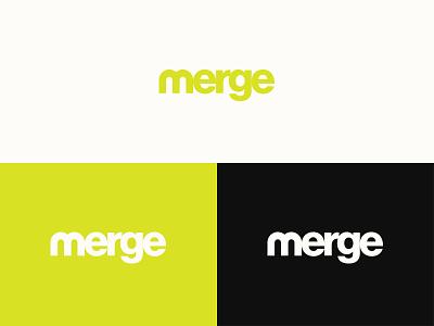 Merge college church logo