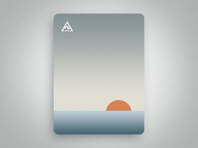 Sunset ocean vector travel sunset