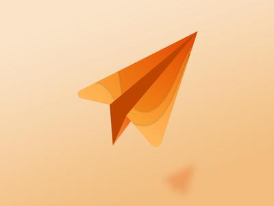 Send it! send origami paper airplane