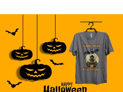 HALLOWEEN t shirt logo good halloween typography illustration branding design best t-shirt t shirt nice best