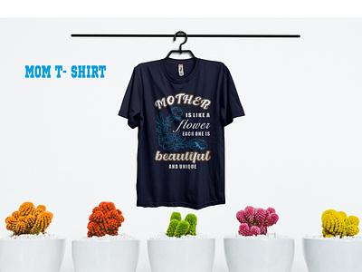 mom t shirt nice typography branding good best t-shirt t shirt logo illustration best flower mom