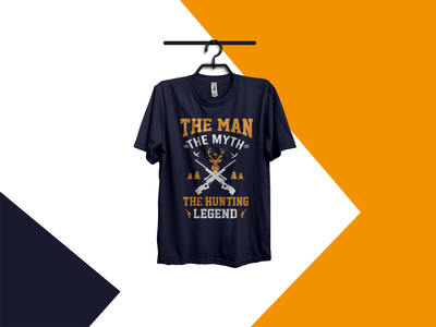 hunting t-shirt hunting t-shirt hunt deer hunter gun hud vector illustration branding good logo t shirt best