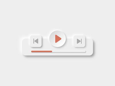Music Button | Neumorphic Design musicbutton