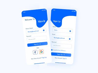 Sign Up Dialy UI app web design ui mobile app mobile uiux website design daily ui 001 dailyui