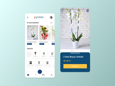 Flower App ios colors user experience userinterface concept color flower iphone app mobile app iphone x iphone flower app blue clean app ui ux design dribbble