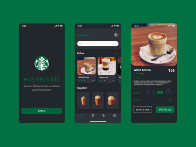 Starbucks (Dark mode)
