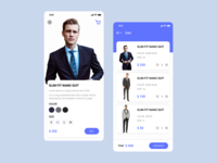 E-Commerce Man Suit App