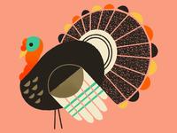 Turkey Textures thanksgiving textures digital illustration animal ipadproart procreate illustration turkey