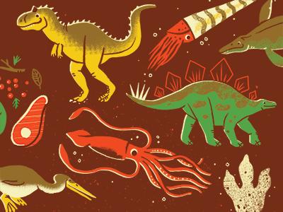 More Prehistoric Creatures
