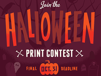 Halloween Print Contest