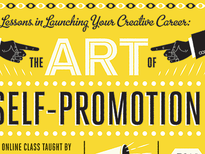 The art of self promotion dribbble