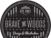 Brave the woods circle full
