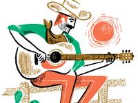 Guitar Playin' Cowboy