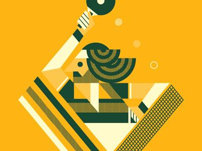 Ping ponger dribbble