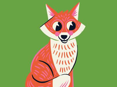 Fox friend dribbble