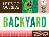 Backyard Board Book