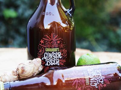 Garwood's Ginger Beer Labels