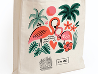 West Elm x i'mME Tote