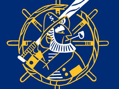 Seattle Mariners Townie Made Tee baseball seattle mariners mascot logo sports apparel t-shirt tees