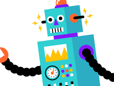 Mr. Roboto animation fun character illustration robot