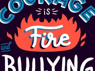 anti bullying by brad woodard   dribbble