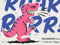 Happy T-Rex