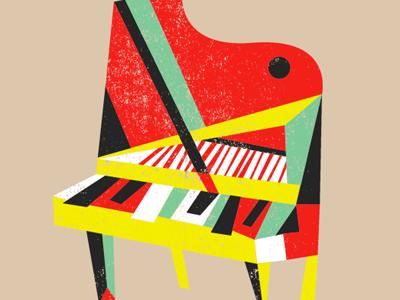 Picassos Piano By Brad Woodard