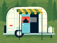 Airstream Camper Trailer