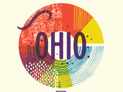 We're Coming to Ohio! illustration class workshop insects bugs textures columbus ohio