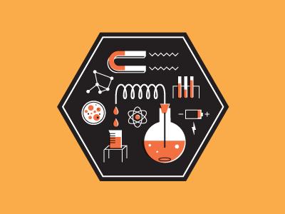 Science Equipment Icon illustration icon science
