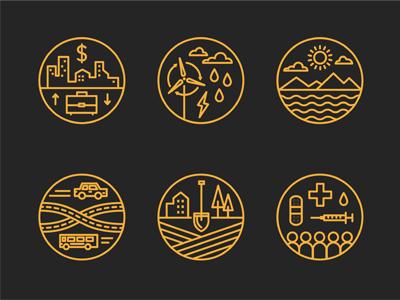 Data Icons icons illustration infographic website ui design